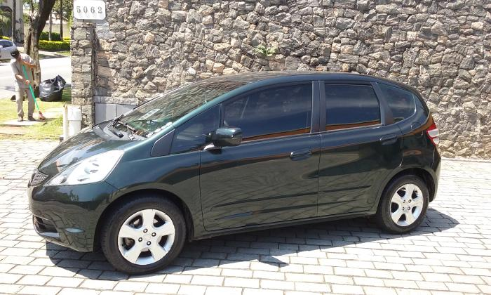 Vendo Honda Fit Lx 2010 Estado De Novo Unico Dono
