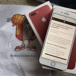 Apple Iphone 7 Product Red 256gb