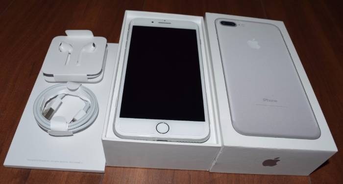 Iphone 7 Plus 128gb Anatel Silver Completo Com Not