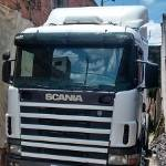 Scania R 124 Ga 420 4x2 Ano 2001 Frontal Completo