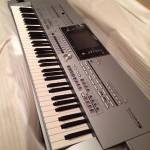 Yamaha Tyros 5 Keyboard With Speakers