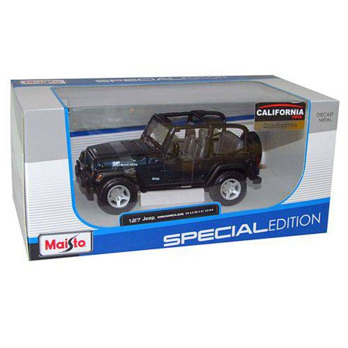 Mini Jeep Wrangler Rubicon Escala 1 27 Maisto
