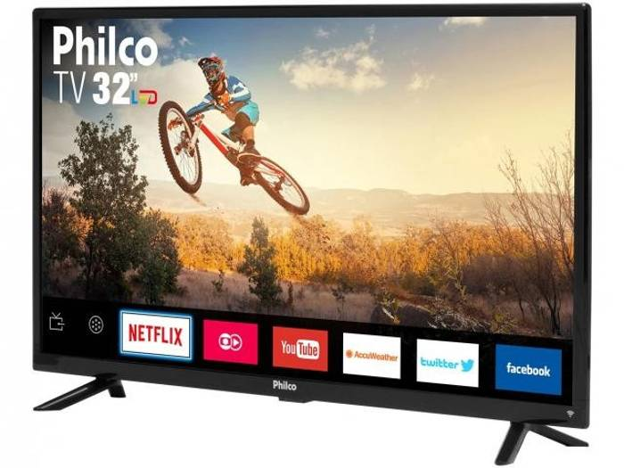 Smart Tv Led 32 Philco Conversor Dig