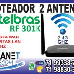 Roteador Intelbras Rf301k Wifi Wireless
